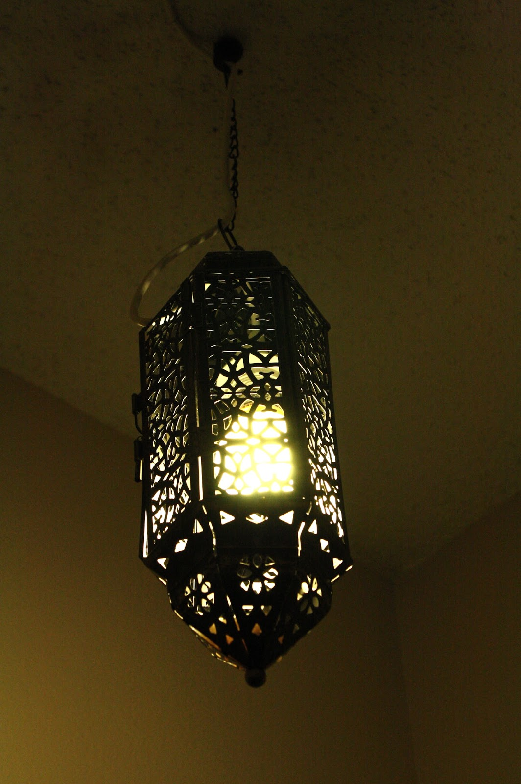 DIY: my moroccan lamp