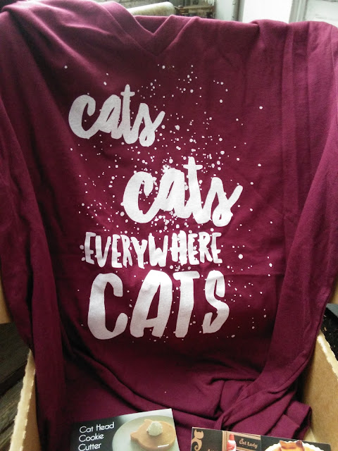 Cats Everywhere t-shirt