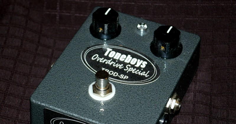 toneboys custom guitar pedals toneboys tbod sp overdrive special pedal. Black Bedroom Furniture Sets. Home Design Ideas