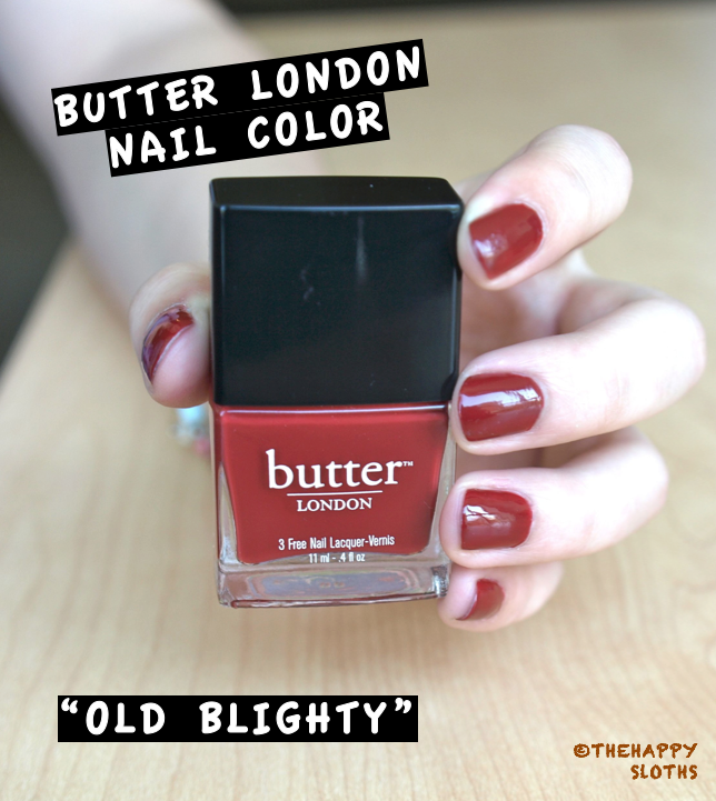 Butter London In Old Blighty Review And Swatches The Happy