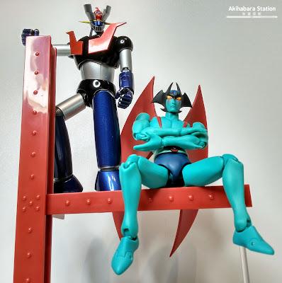 "Review de las Dynamic Classics ""Soul of Chogokin Mazinger Z GX-70"" y ""S.H.Figuarts Devilman"""