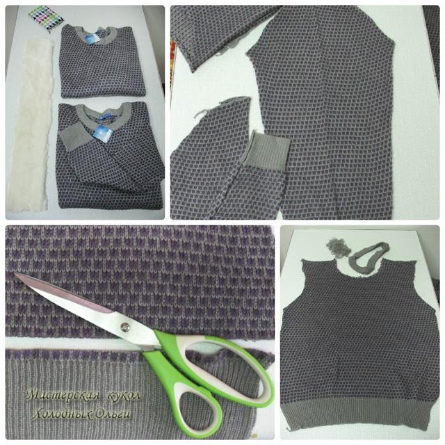 Мастер-класс Шапочка, шарф и варежки 1