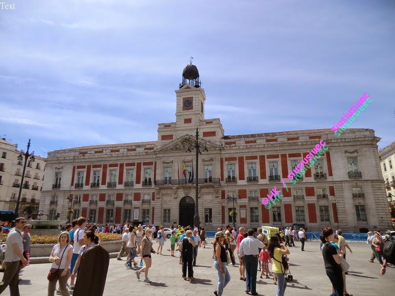 西葡(十五)西班牙 馬德里 太陽門廣場 Puerta del Sol 零公里(0公里) Plaza Mayor 自由行 @ 女中醫師siusiusiuec的 ...