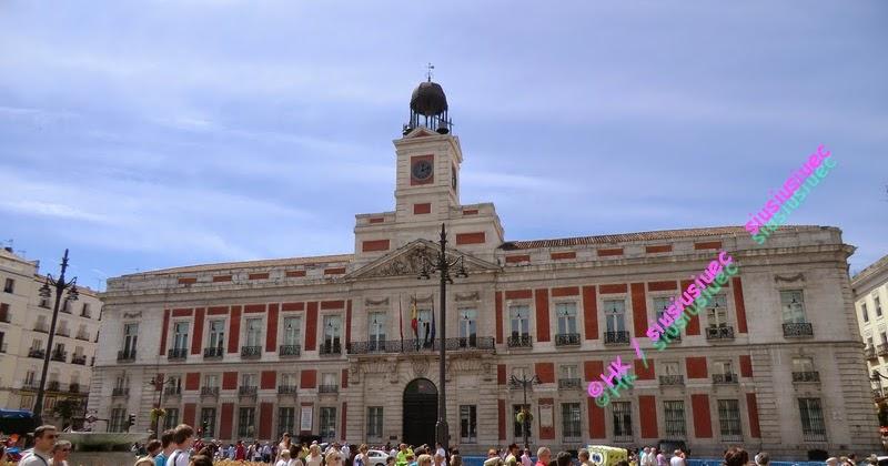 懸壺濟世是我的夢想: 西葡(十五)西班牙 馬德里 Madrid 太陽門廣場 Puerta del Sol 零公里(0公里) Plaza Mayor 自由行