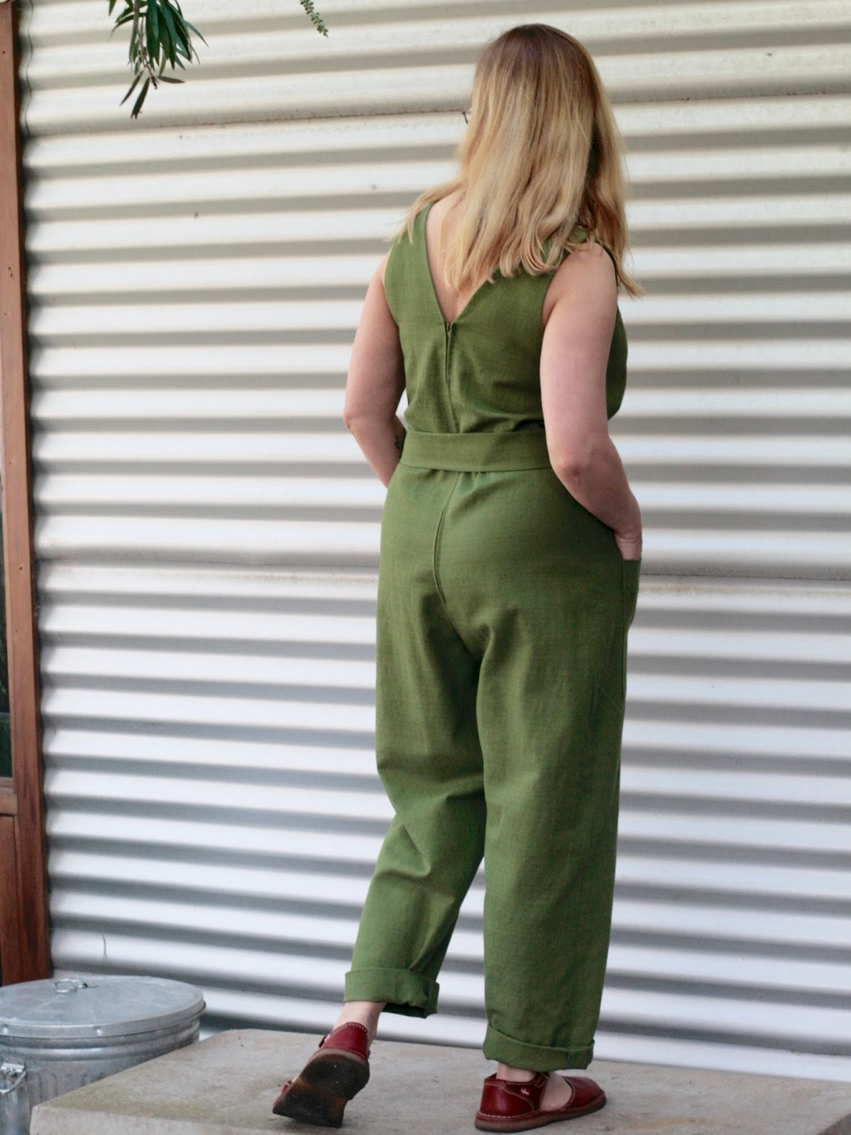 a04ea863543 THE DRAPERY  Pattern Review  In The Folds Jumpsuit (free pattern for ...