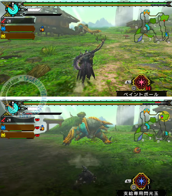 Game Monster Hunter Portable 3rd android PSP