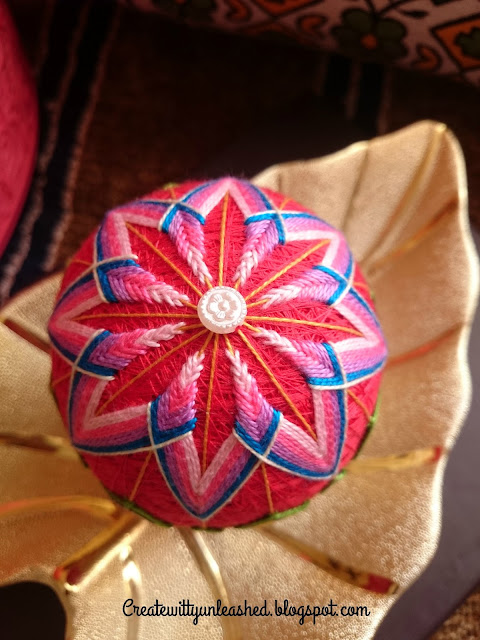 Japanese Temari balls challenge