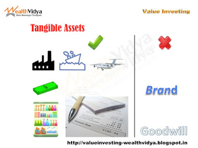 Slide showing examples of tangible assets