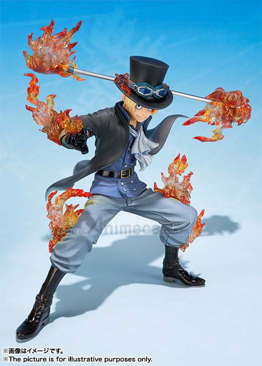 SABO 5th Anniversary Edition FIGURE Figuarts ZERO One Piece BANDAI