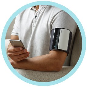 Omron Evolv smart blood pressure monitor can be connected to Android to track and monitor blood pressure