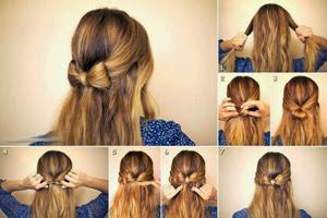 Rambut di Ikat Simpel