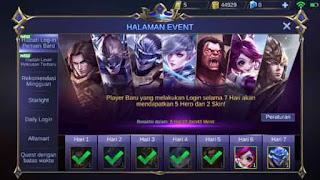 event hero menjadi battle point di mobile legends