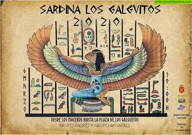 Entierro de La Sardina de Los Galguitos en San Andrés y Sauces