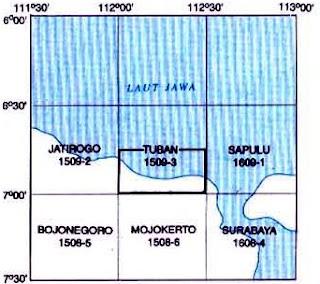 Indeks Peta Geologi Tuban