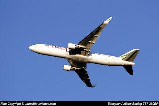 AVIÓN BOEING 767 ET-ALJ