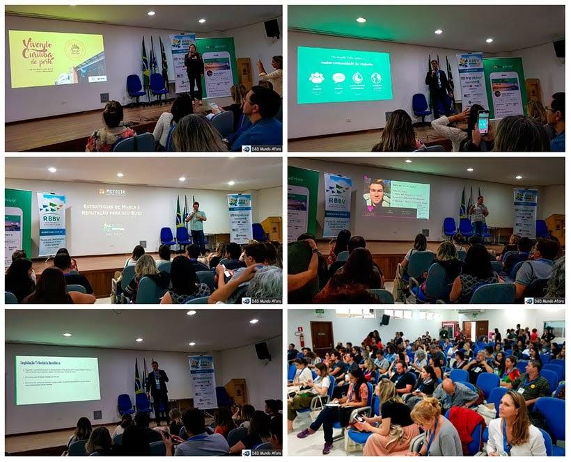 Palestras no Encontro da RBBV em Curitiba