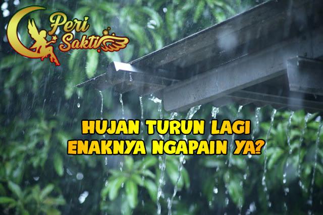 Kebiasaan Yang Sering Dilakukan Saat Hujan