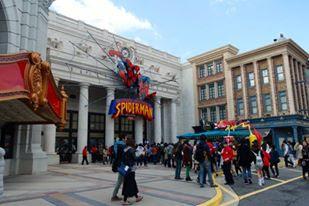 The Amazing Spiderman Ride at USJ