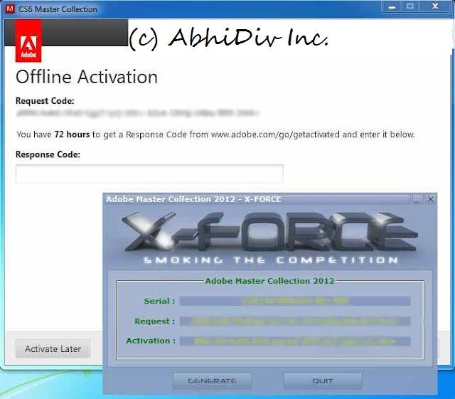 adobe cs6 master collection keygen free download for windows 7