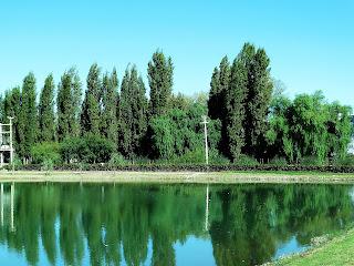 Açude, na Bodega Trivento, Mendoza