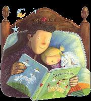 Resultado de imagen de contar un cuento antes de dormir