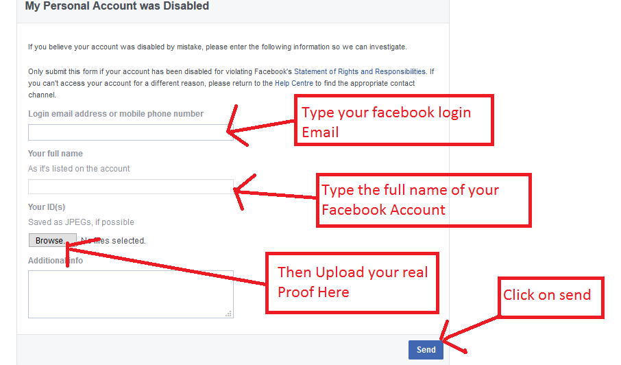 How to recover disabled Facebook account ? 2018 Latest