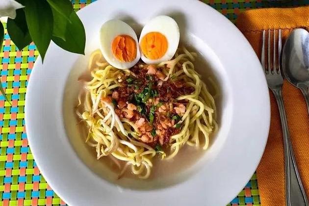 Resep Mie Celor Tanpa Santan, Resep Mie Celor Sederhana, Cara membuat Mie Celor Khas Palembang