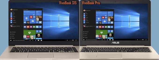 ASUS VivoBook Pro dan VivoBook S