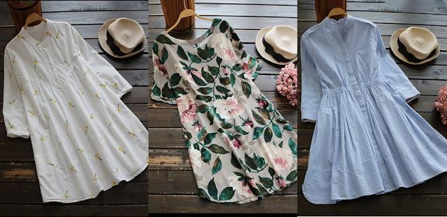 vestidos para passeio da zaful