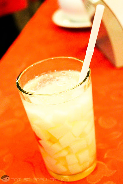 Almond Jelly Drink of Shangri-La Chinese Restaurant