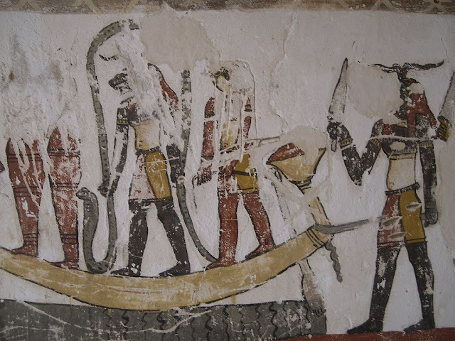 Paintings from the tomb of Petosiris at Muzawaka (XXXV)