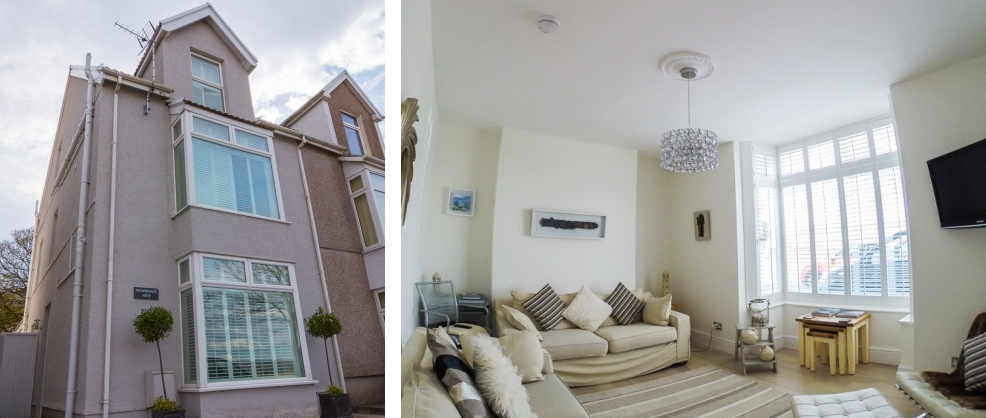 Properties in the Mumbles near the beach