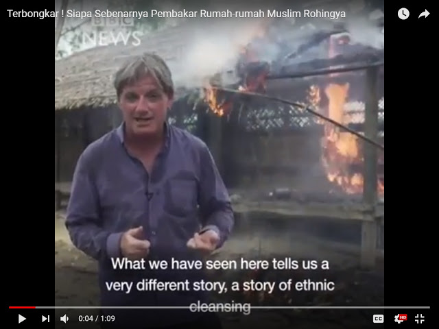[VIDEO] Terbongkar! Siapa Pembakar Rumah-rumah Muslim Rohingya