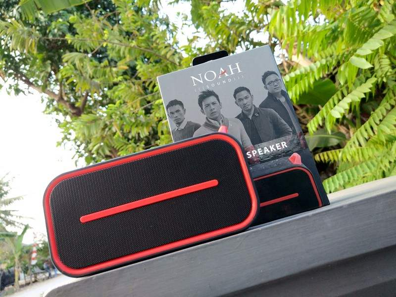 Review SPC Noah Sound NS1, Speaker Outdoor Dengan Suara Asli Ariel Noah