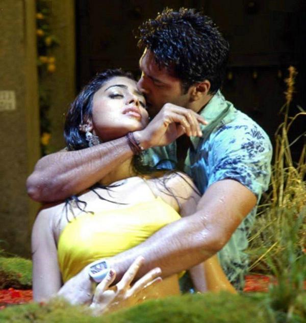 Sexy Indian Actress Boob Press Bollywood Boobs Pressing -9863