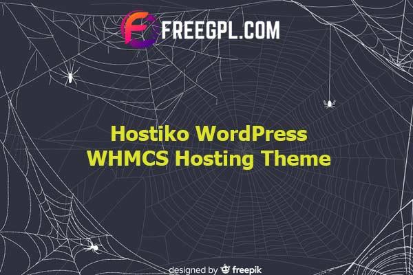Hostiko WordPress WHMCS Hosting Theme Nulled Download Free