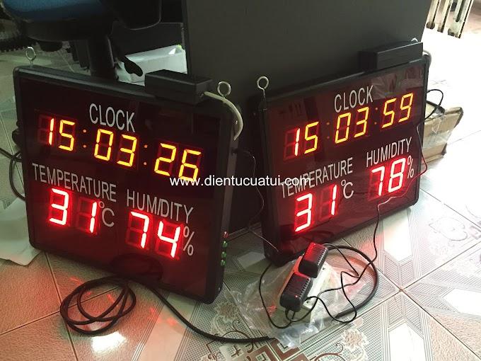 Đồng hồ Nhiệt độ - Độ ẩm giá rẻ