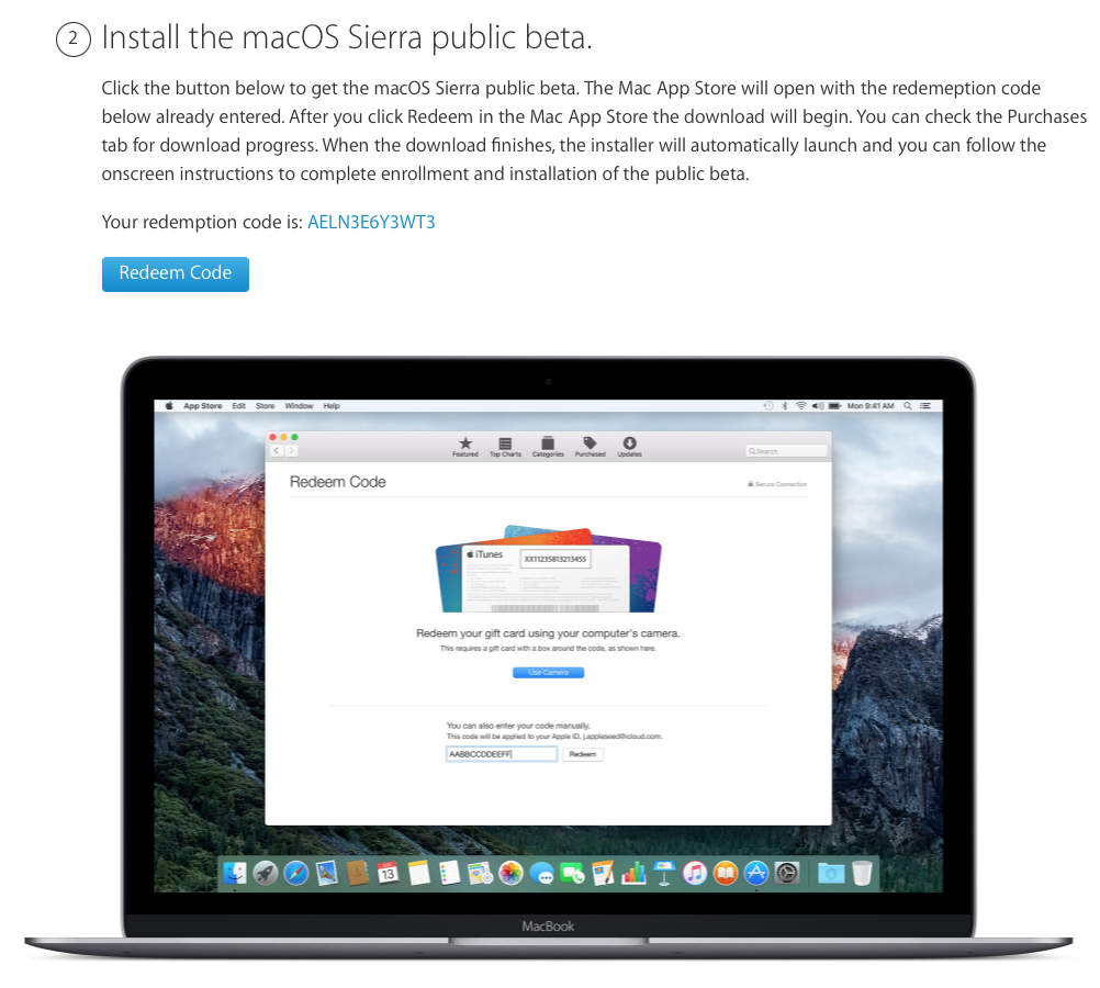 Visit Betale And Log In With Your Apple Id 2 Scroll Down To Step 2 On