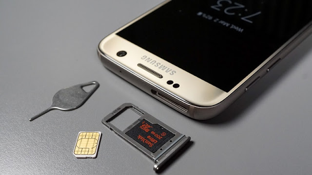 Samsung galaxy S7 xách tay hỗ trợ 1 Sim 1 thẻ nhớ