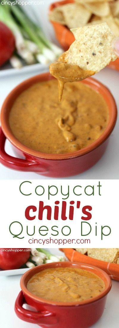 COPYCAT CHILI'S QUESO DIP RECIPE #COPYCAT #CHILI'S #QUESO #DIP #RECIPE Desserts, Healthy Food, Easy Recipes, Dinner, Lauch, Delicious, Easy, Holidays Recipe, Special Diet, World Cuisine, Cake, Grill, Appetizers, Healthy Recipes, Drinks, Cooking Method, Italian Recipes, Meat, Vegan Recipes, Cookies, Pasta Recipes, Fruit, Salad, Soup Appetizers, Non Alcoholic Drinks, Meal Planning, Vegetables, Soup, Pastry, Chocolate, Dairy, Alcoholic Drinks, Bulgur Salad, Baking, Snacks, Beef Recipes, Meat Appetizers, Mexican Recipes, Bread, Asian Recipes, Seafood Appetizers, Muffins, Breakfast And Brunch, Condiments, Cupcakes, Cheese, Chicken Recipes, Pie, Coffee, No Bake Desserts, Healthy Snacks, Seafood, Grain, Lunches Dinners, Mexican, Quick Bread, Liquor