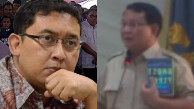 Ini Kata Fadli Zon yang Disebut Elite Maling yang Dimaksud Prabowo