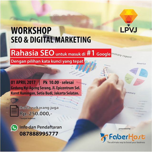 Workshop SEO dan Digital Marketing