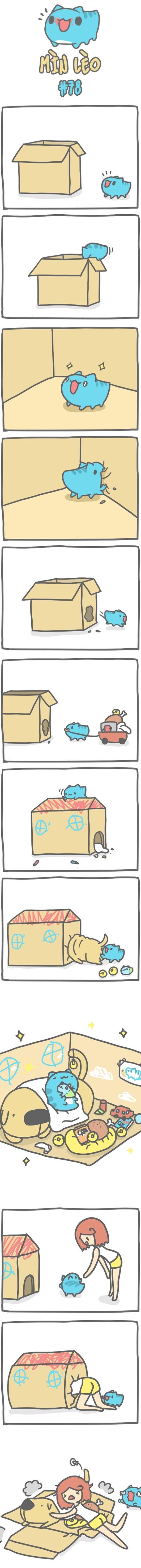 Truyện Mìn Lèo #78: Ngôi nhà của Mìn