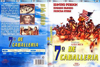 Carátula dvd: El séptimo de caballería (1965) (Gli eroi di Fort Worth)