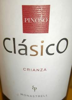 Clásico Crianza 2011, Bodega de Pinoso