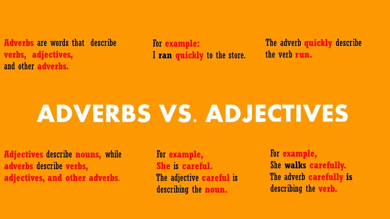 English In Jerez B2 Grammar Adjectives And Adverbs