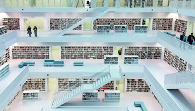 Perpustakaan Terbaik di Dunia Bikin Betah Baca