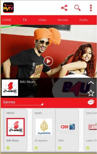 Dialog TV App Download   Free Channels   MY TV   Dialog TV