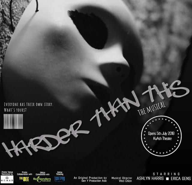 Harder Than This, The Musical, Gen Y Production Asia, Befrienders Kuala Lumpur, Break the Stigma of Mental Health, malaysia performing arts, Ashlyn Harris, Wicked The Musical, London West End, Charine Cham, severe depression, anxiety disorder, suicidal tendencies, upbringing
