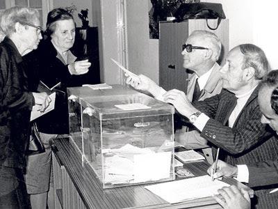Historia de la democracia en España: en España no ha habido democracia... dicho por unos y otros